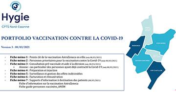 Vaccination par AstraZeneca. image mise en avant