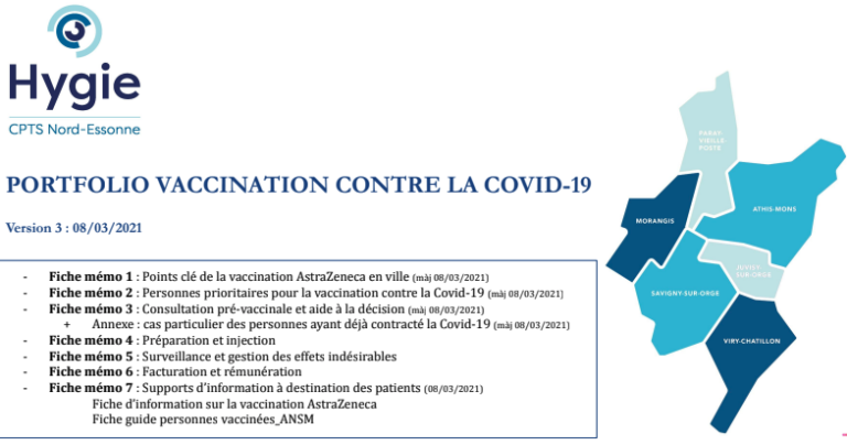 Vaccination par AstraZeneca